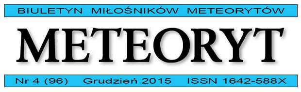 Kwartalnik Meteoryt 4/2015