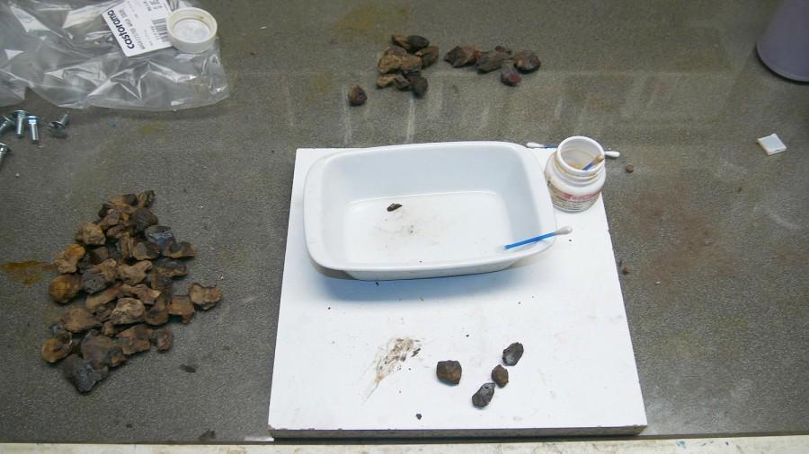 Chemiczna metoda identyfikacji meteorytów żelaznych