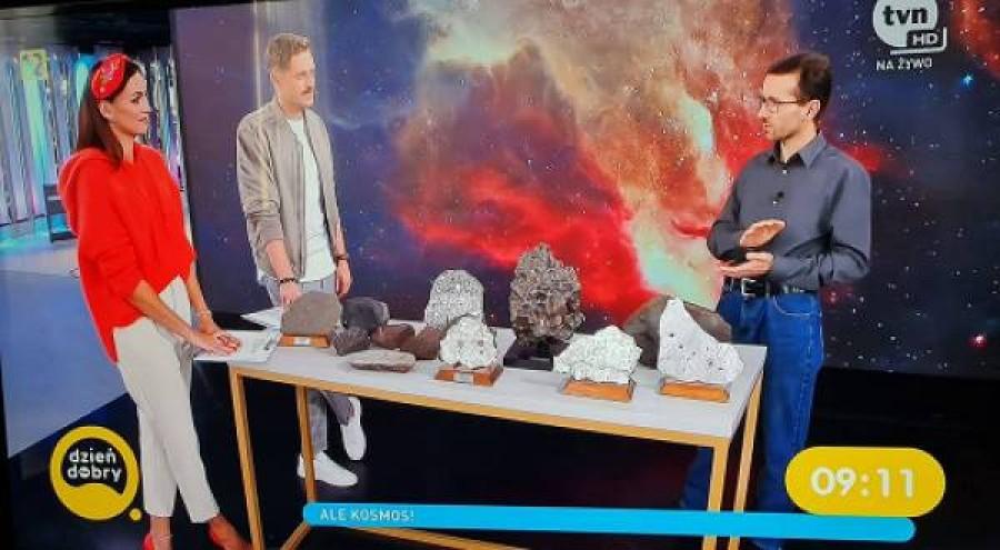 """O meteorytach w """"Dzień Dobry TVN"""""""