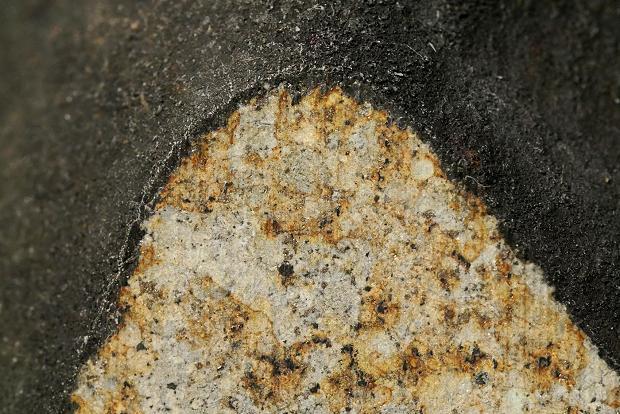 Siewierz - skorupa obtopieniowa w niektórych miejscach ma nawet 1mm grubości